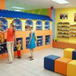 Дизайн интерьера магазина.